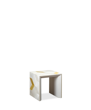 Avalon Gold Side Table